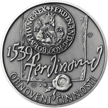 Pražská mincovna - stříbro malá patina - 2