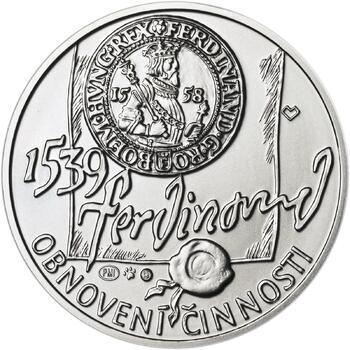 Pražská mincovna - stříbro malá b.k. - 2