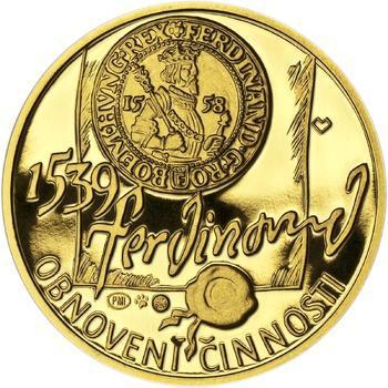 Pražská mincovna - zlato 1 Oz Proof - 2