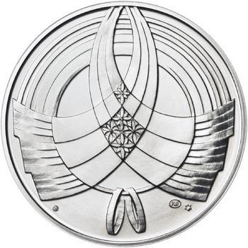 Výročí svatby 25 mm stříbro b.k. - 2