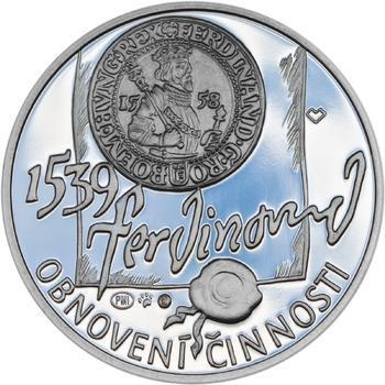 Pražská mincovna - stříbro malá Proof - 2