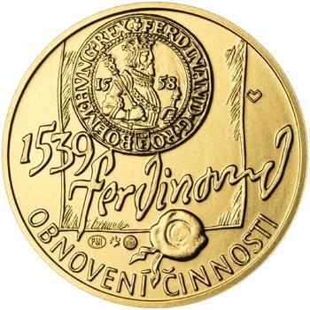 Pražská mincovna - zlato 1/2 Oz b.k. - 2
