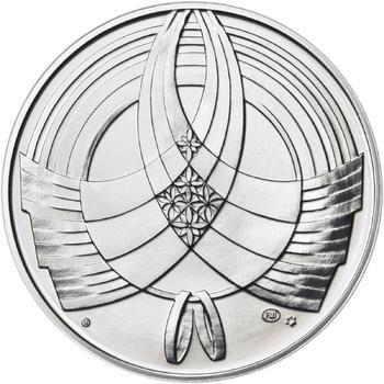 Výročí svatby 50 mm stříbro b.k. - 2