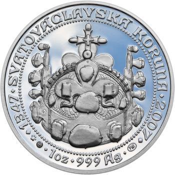 660 let od Korunovace Karla IV. českým králem - stříbro Proof - 2