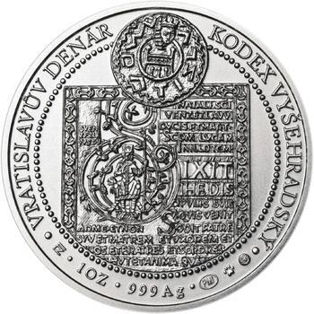 Korunovace Vratislava II. českým králem - stříbro b.k. - 2