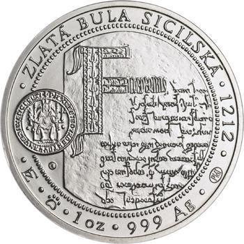 810 let od korunovace Přemysla Otakara I. českým králem - stříbro b.k. - 2