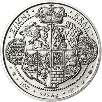 Korunovace Fridricha Falckého českým králem - stříbro b.k. - 2