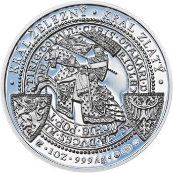 Korunovace Přemysla Otakara II. českým králem -  stříbro Proof - 2