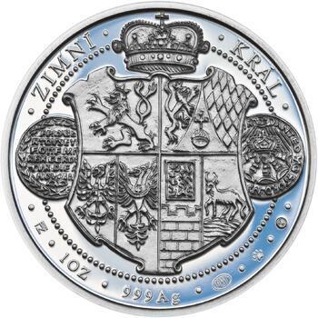 Korunovace Fridricha Falckého českým králem - stříbro Proof - 2