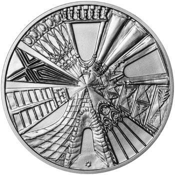 Praha - stříbro 1 Oz b.k. - 2