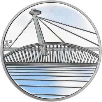 Bratislava - stříbro 1 Oz Proof - 2