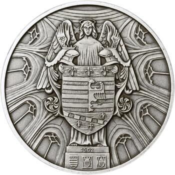 Košice - stříbro 1 Oz patina - 2