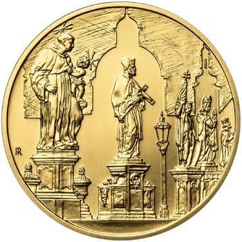 Královské hlavní město Praha - zlato 1/2 Oz b.k. - 2