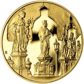 Královské hlavní město Praha - zlato 1 Oz Proof - 2