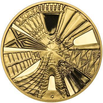 Praha - zlatá 1 Oz Proof - 2