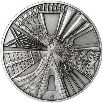Královské hlavní město Praha - stříbro 1 Oz patina - 2