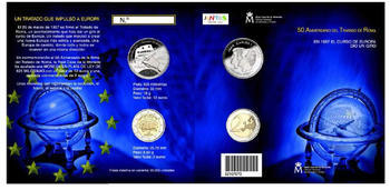 Treaty of Rome 2007 Blister - 2