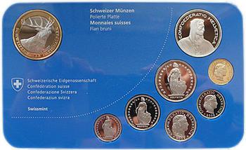"""2009 Oběhové mince Švýcarsko Proof """"Red Deer"""" - 2"""