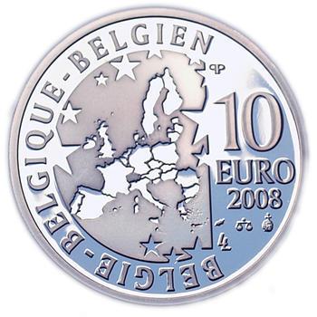 Olympic Games  Ag 10 EUR Proof Belg. 08 - 2