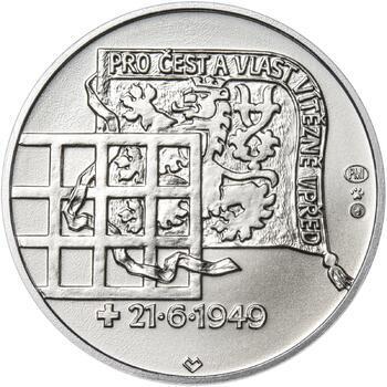 Heliodor Píka - stříbro 28 mm b.k. - 2
