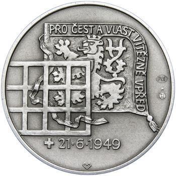 Heliodor Píka - stříbro 28 mm patina - 2