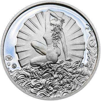 Venuše 50 mm stříbro Proof - 2
