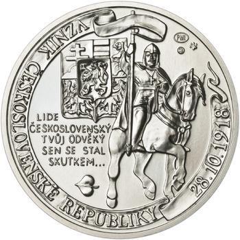 Muži 28. října - stříbro malá b.k. - 2