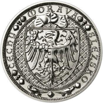 Lev a Orlice - stříbro malá b.k. - 2