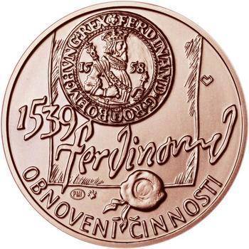 Pražská mincovna - Měď 1 Oz b.k. - 2