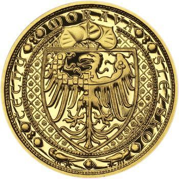 Lev a Orlice - zlato 1 Oz Proof - 2