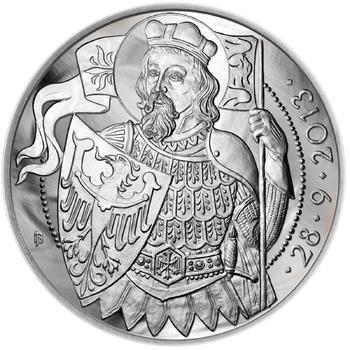 Relikvie Sv. Václava - vzor 1 - Ag malá b.k. - 2