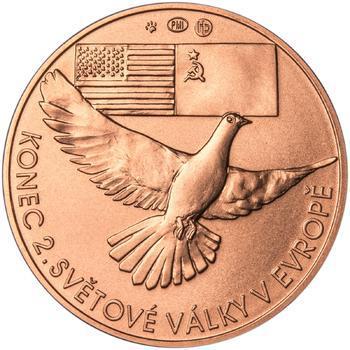 Osvobození Československa 8.5.1945 - 1 Oz Měď b.k. - 2