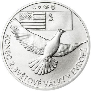 Osvobození Československa 8.5.1945 - 1 Oz stříbro b.k. - 2