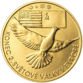 Osvobození Československa 8.5.1945 - 1 Oz zlato b.k. - 2