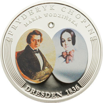 2009 - Frédéric Chopin ann. coin set Ag Proof - Andorra - 2
