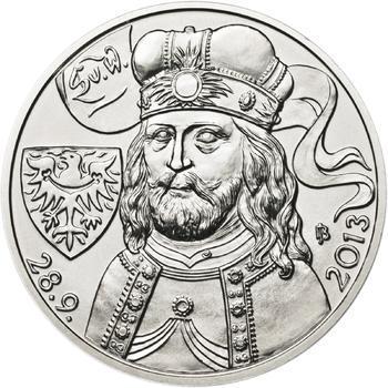 Relikvie Sv. Václava - vzor 2 - 1 Oz Ag b.k. - 2