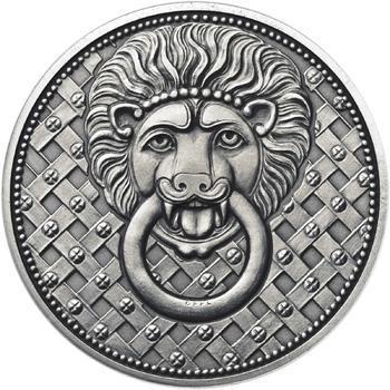 1100. výročí narození sv. Václava - stříbro 1 Oz patina - 2