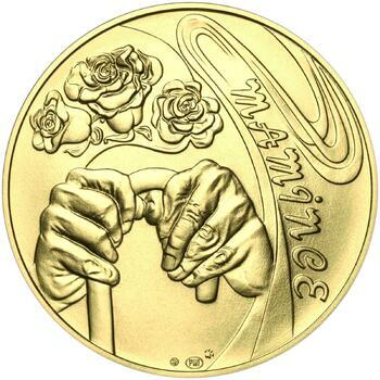 Mamince 25 mm zlato b.k. - 2