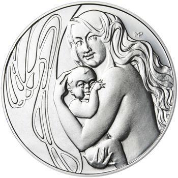 Mamince 25 mm stříbro b.k. - 2