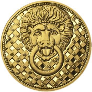 1100. výročí narození sv. Václava - zlatá 1 Oz Proof - 2