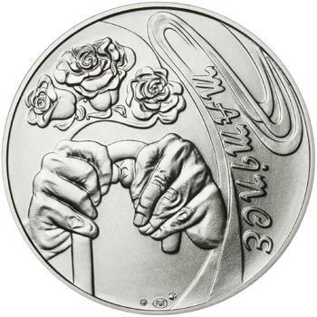 Mamince 50 mm stříbro b.k. - 2
