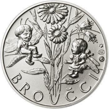 Jan Karafiát - Broučci - stříbro malá b.k. - 2