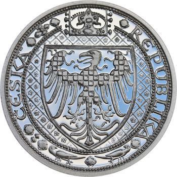 Nejkrásnější medailon III. - Císař a král Ag Proof - 2