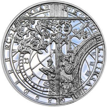 Proof - Pražské dukáty - 10 dukát - Staroměstský orloj Ag - 2