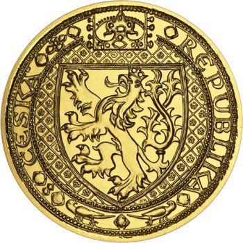 Nejkrásnější medailon II. - Královská pečeť zlato b.k. - 2