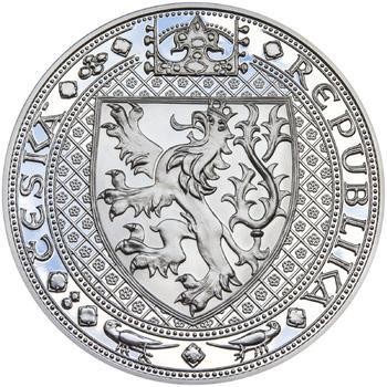 Nejkrásnější medailon II. Královská pečeť - 1 kg Ag Proof-like - 2
