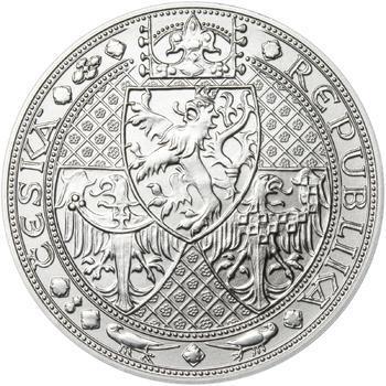 Nejkrásnější medailon I. Nové Město pražské - 50 mm Ag b.k. - 2