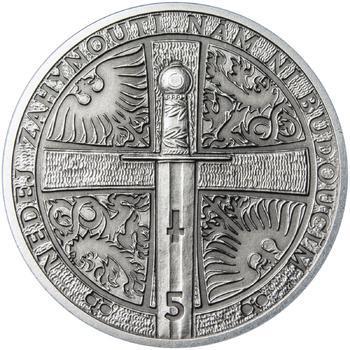 2014 - patina - Svatováclavské dukáty - 5 dukát Ag - 2