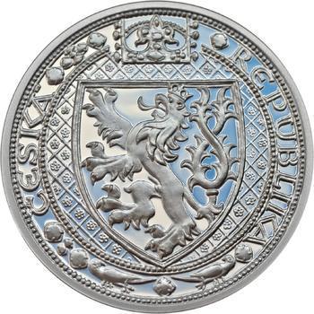 Nejkrásnější medailon II. - Královská pečeť Ag Proof - 2