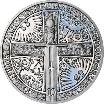 2013 - Proof - Svatováclavské dukáty - 10 dukát Ag - 2